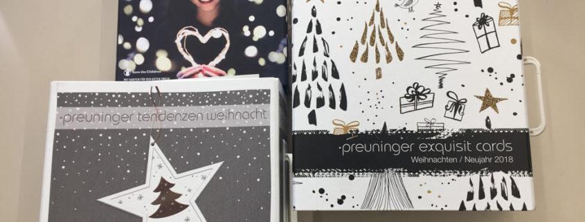 Weihnachtskollektion Druckerei Erdei 2017