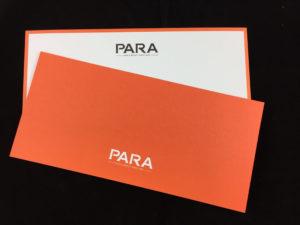Geschäftsausstattung Compliment Cards, Papier weiß 300 gr