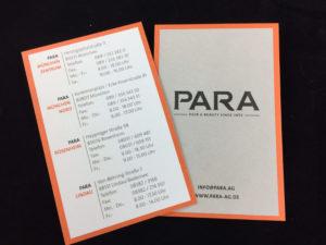 Geschäftsausstattung Visitenkarten, Papier Fauna RC 250 gr