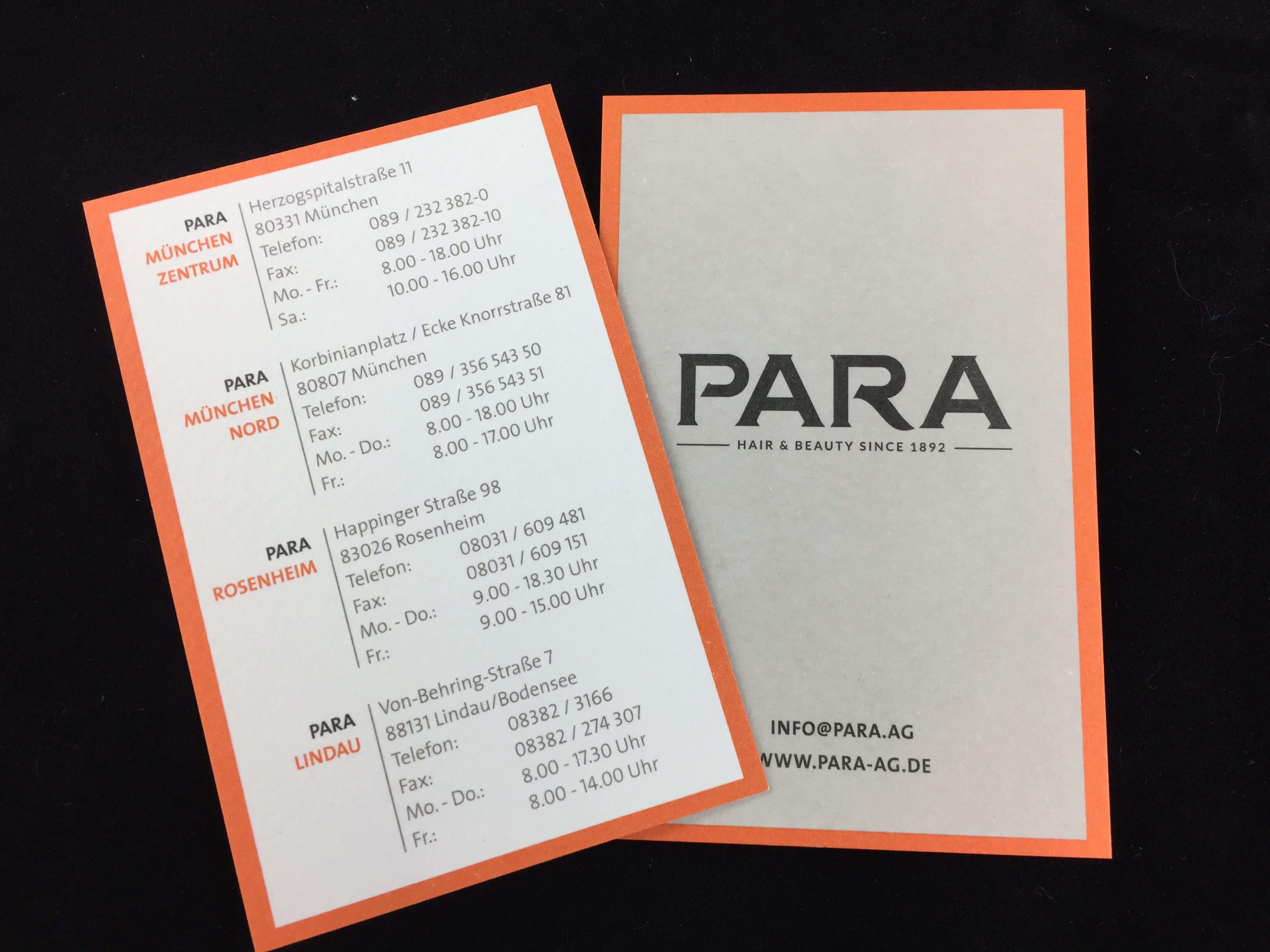 Geschäftsausstattung Visitenkarten Papier Fauna Rc 250 Gr