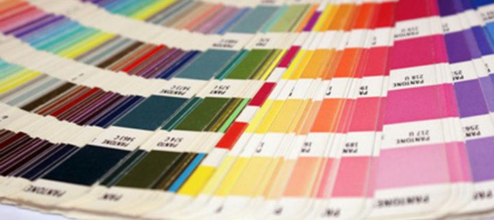 Farbfächer für den Offsetdruck, HKS und Pantone, Druckerei Erdei