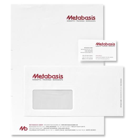 Geschäftsdrucksachen, Briefpapier, Hüllen und Visitenkarten, Papier weiß